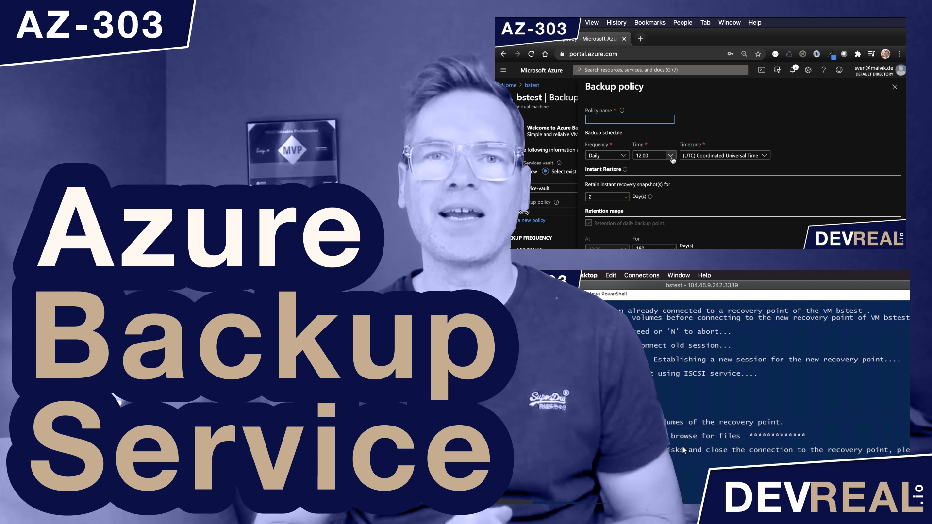 How to Recover a Virtual Machine with Azure Backup Service