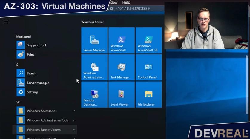 Start Server Manager