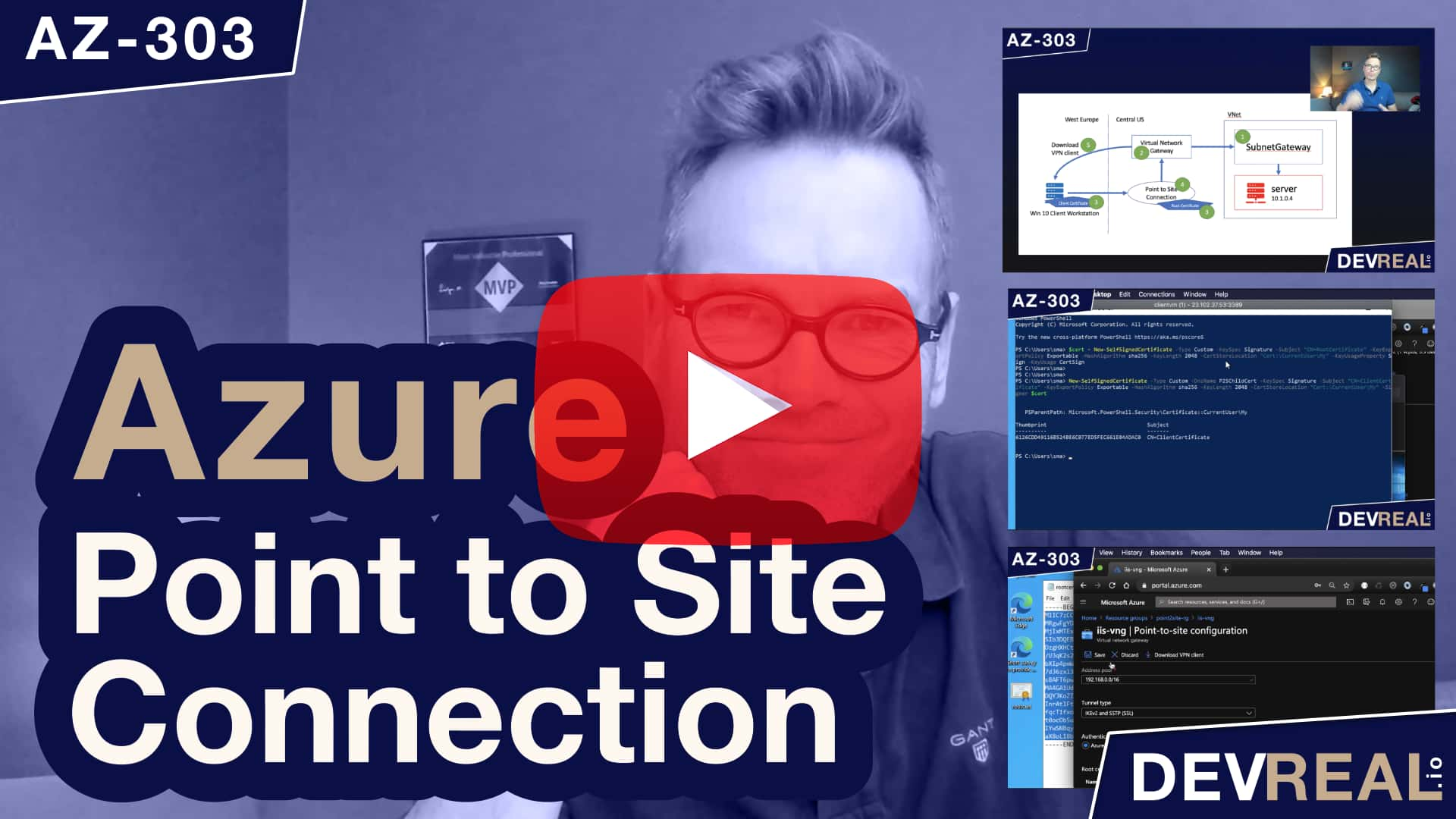 Watch Azure Point to Site VPN Connection