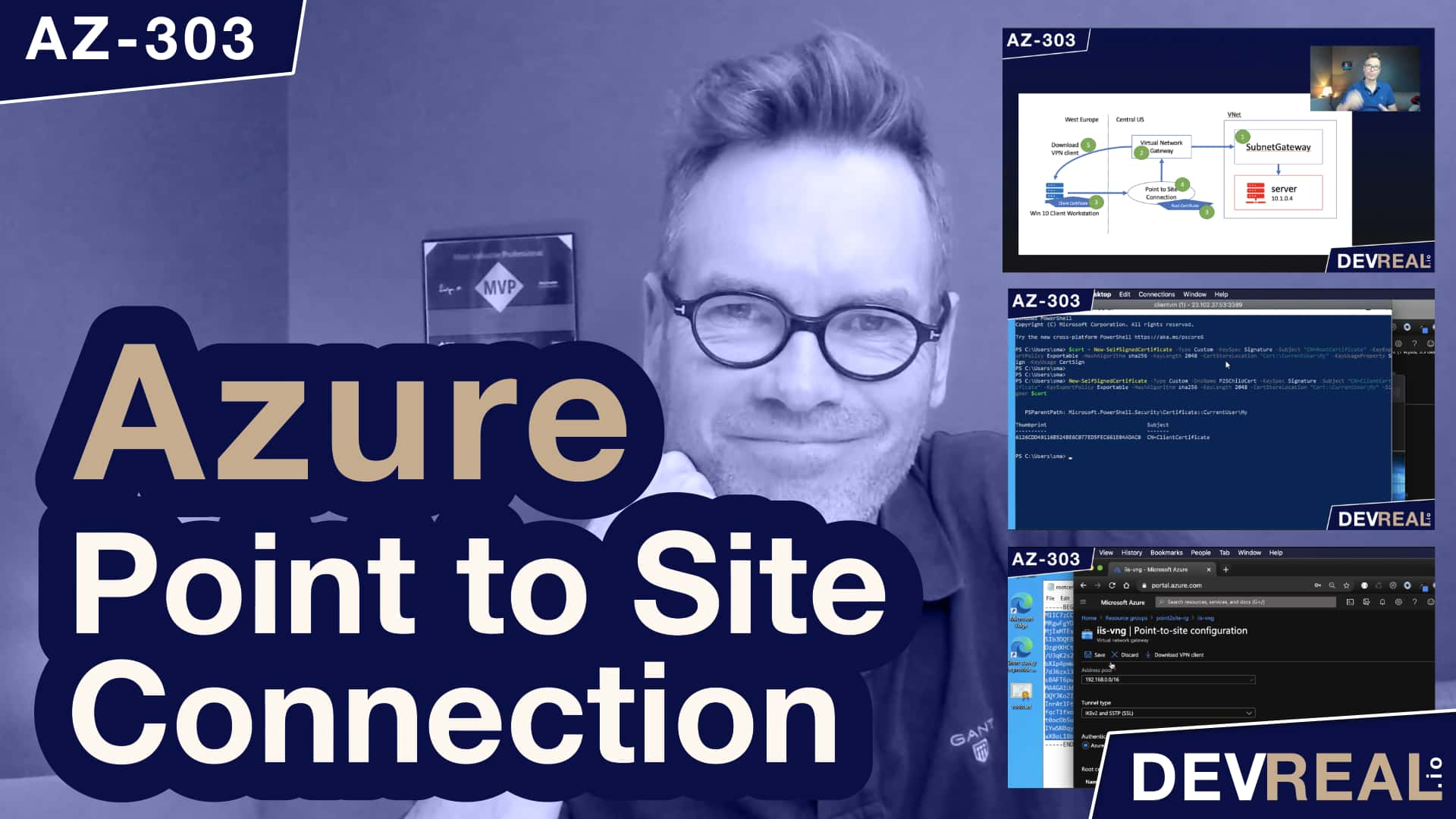 How to Establish a VPN Point to Site Connection in Azure