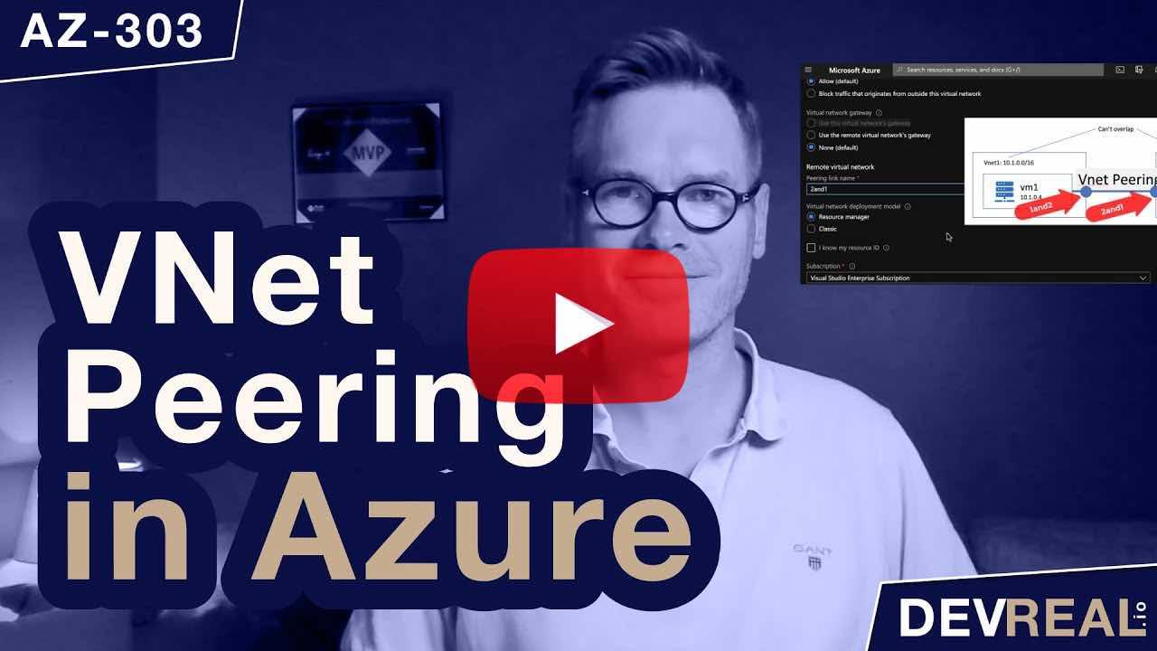 Virtual Network Peering in Azure