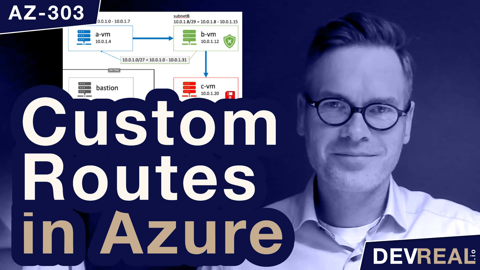 How to Create Custom Routes in Azure