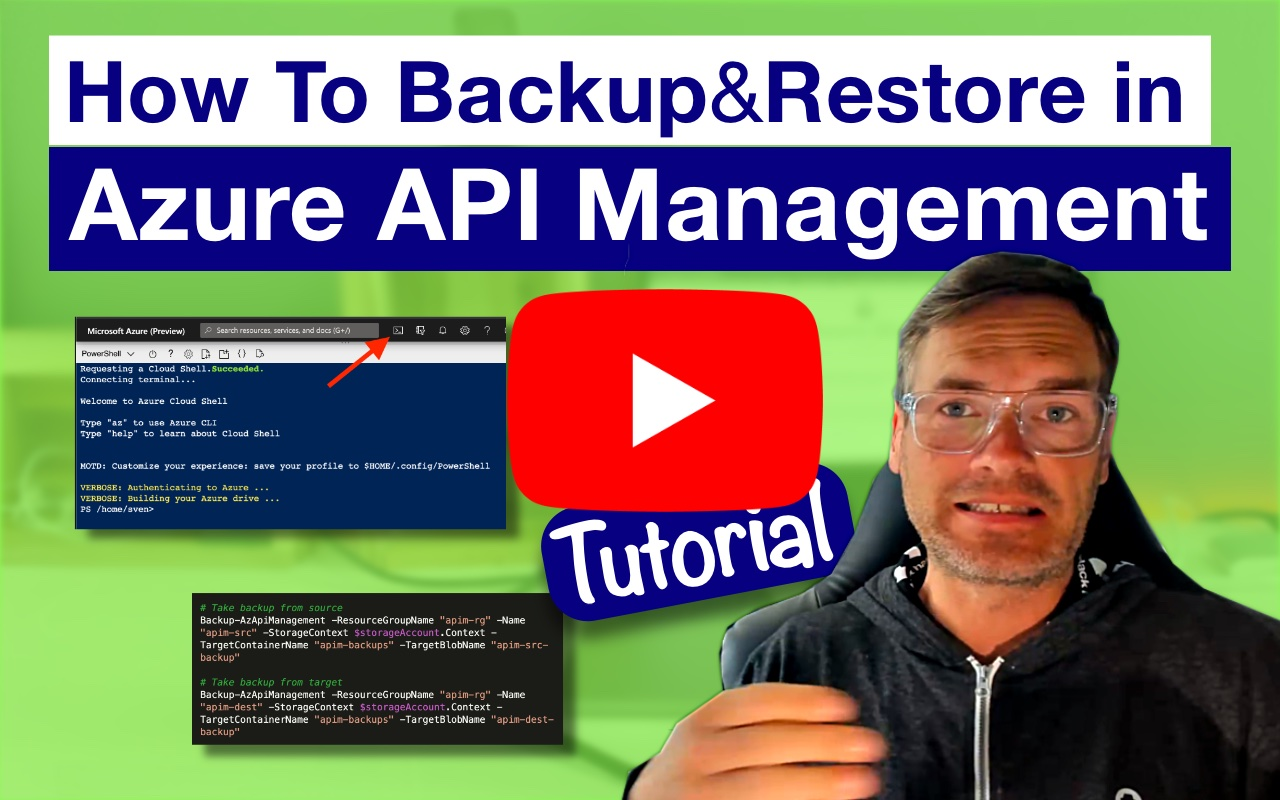 Backup and Restore in Azure API Management