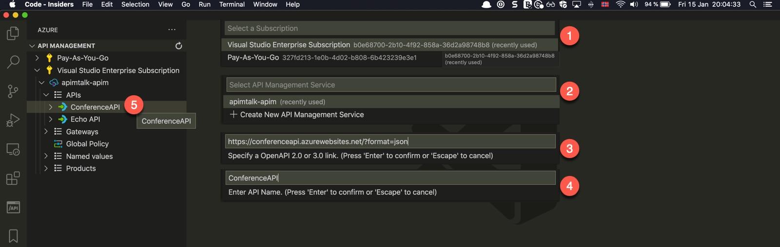 Import API from URL into Azure API Management 2