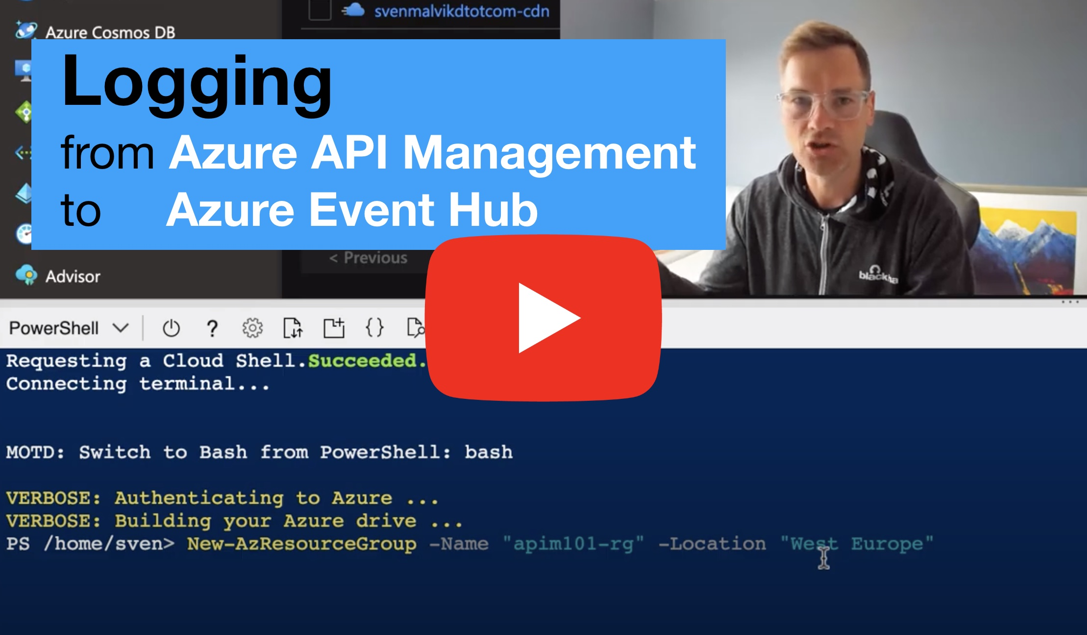 Logging in Azure API Management