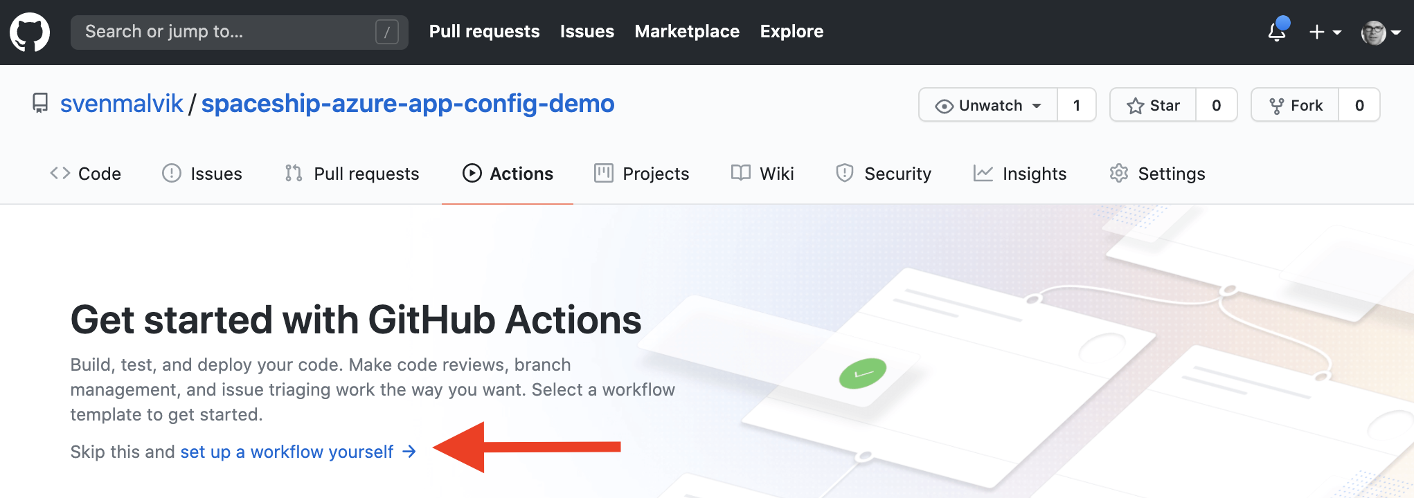 Starting GitHub Actions Workflow