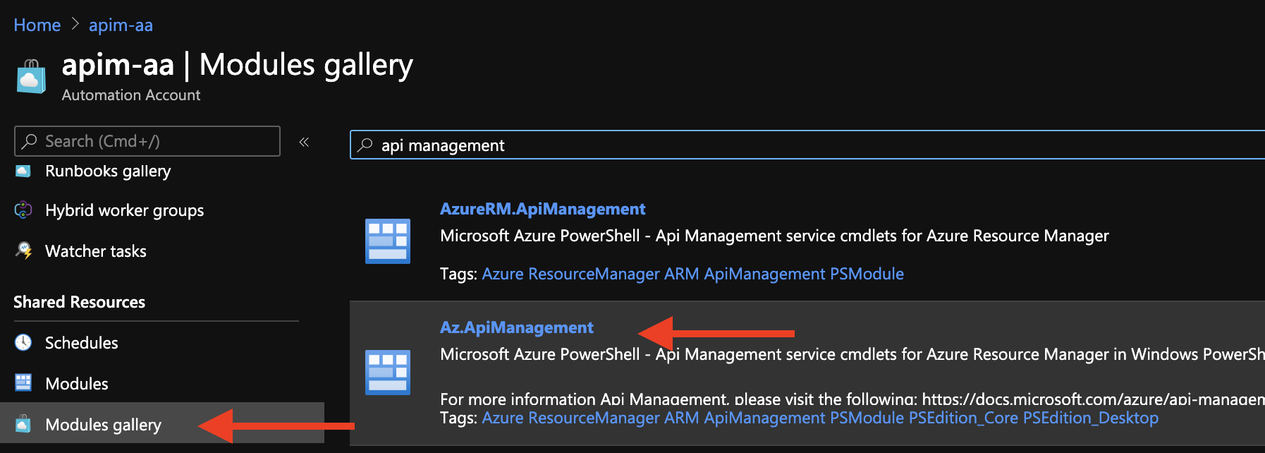 Az.ApiManagement PowerShell Module