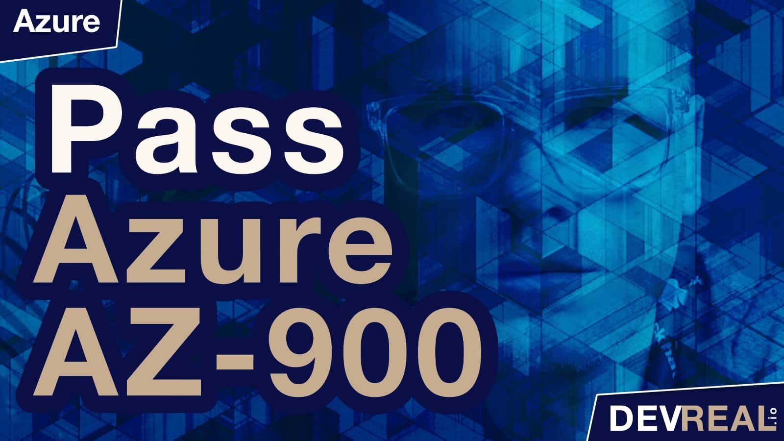 AZ-900 Self-Study Guide for Azure Fundamentals