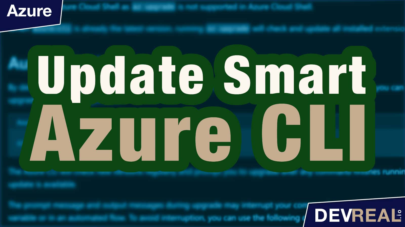 How To Automatically Update Azure CLI