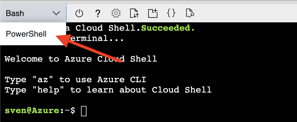 Azure Cloud Shell Bash and PowerShell